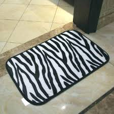 charming zebra bath rug print bathroom large rugs contemporary ikea uk animal tiger p