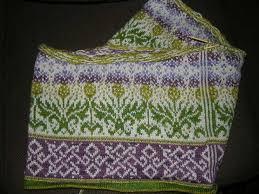 Thistle Knitting Chart Thistle Pattern By Mary Scott Huff Fair Isle Knitting