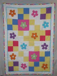 Brights Flower Seersucker Quilt Pattern :: The Little Lavender Patch & Brights Flower Seersucker Quilt Pattern Adamdwight.com