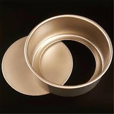 8 round cake pans baking pan definition s size chart new 6 gold color non stick