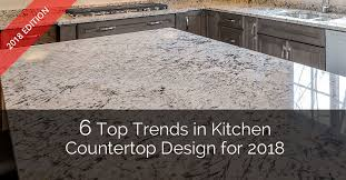 Kitchen Backsplash With Granite Countertops New 48 Top Trends In Kitchen Countertop Design For 48 Home Remodeling