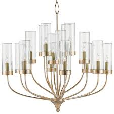 rowen modern classic glass hurricane 16 light chandelier kathy kuo home