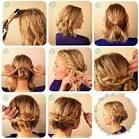 Прически видео на волосы до плеч