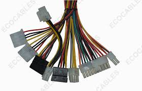 universal pin electric wire harness awg coaxial cable assembly universal 6 pin electric wire harness 20awg coaxial cable assembly for power supply