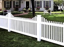 Vinyl Picket Fence Options Heartland Fence Peoria IL