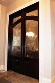 wooden glass panel interior doors