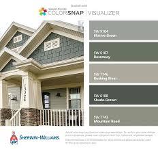 Exterior Home Paint Schemes Interesting Decoration