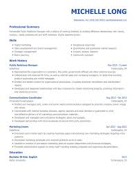 Sample Employment Resume Free Professional Resume Templates From Myperfectresume Com