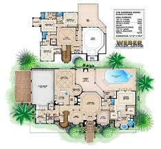 floor plan first story of coastal plan 175 1061