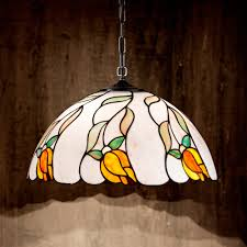 perenz t945 s tiffany pendant lamp retro design