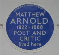 arnold s epochs of expansion and epochs of concentration writework english blue plaque to matthew arnold on his house at 2 chester square london