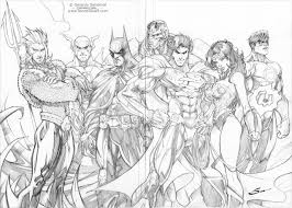 Justice League By Sandoval Art Deviantart