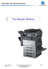 File is 100% safe, uploaded from safe source and passed avira virus scan! Bizhub 367 Driver Konica Minolta 367 Series Pcl Download Bizhub 227 Multifunctional Office Printer Konica Minolta Download The Latest Drivers Manuals And Software For Your Konica Minolta Device Rennrad Komponentenul