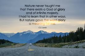 Word Of Nature Nature Gave The Word Glory A Meaning