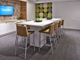 tour stylish office los. Simple Tour Stylish Standing Height Conference Table Desks Los Angeles Office  Furniture Crest In Tour