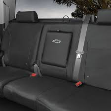 2018 silverado 1500 seat covers crew cab rear black center armrest