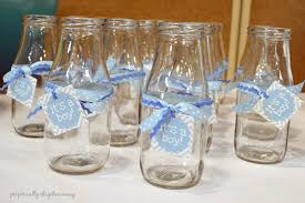 Milk Bottle Decorating Ideas A Classic Baby Boy Shower My Family Baby Shower Perpetually 26
