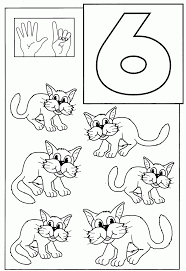 Number 6 Coloring Page. 31 Best Images About Lesson 1 Aiw Home And ...