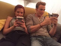 Chris Evans and Scarlett Johansson are friendship goals