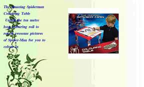 While i am here, the city is safe! The Amazing Spiderman Colouring Table Video Dailymotion