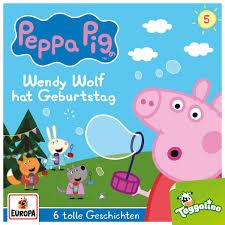 Amazon | Peppa Pig Hoerspiele 05. Wendy Wolf hat Geburtstag (und 5 weitere  Geschichten) | | Children's Books