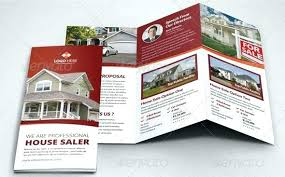 Free House Flyer Template Free Sales Brochure Template Sales Brochure Templates Sample Free