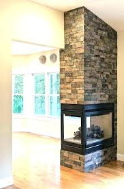3 sided electric fireplace 2 two wood burning gorgeous double glass stoves fireplac