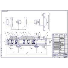 Чертеж главного тормозного цилиндра ВАЗ  Главный тормозной цилиндр ВАЗ 2110