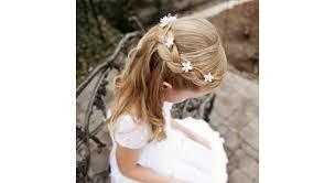 Mariage 20 Idées De Coiffures Pour Petite Fille
