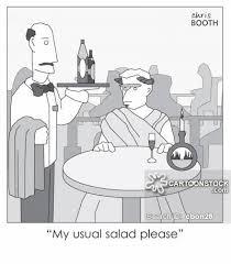 caesar salad dressing stabbed. Modren Dressing Caesar Salad Cartoon 10 Of And Dressing Stabbed