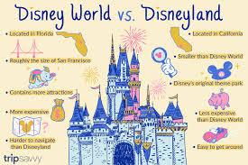 Disney World Size Chart Disneyland Vs Disney World Smackdown Disney Parks