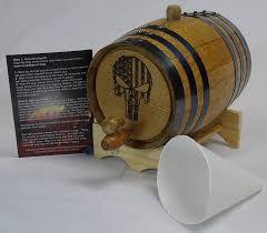 oak wine barrel barrels whiskey. Amazon.com: Engraved 2 Liter Charred American White Oak Aging Barrel (Come \u0026 Take It): Kitchen Dining Wine Barrels Whiskey