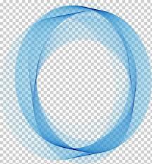 Circle Border Circle Abstract Circle Border Blue And Black Decor Png