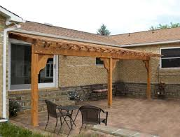 attached garden pergola options 26 l x 12 w redwood no attached garden pergola options 26 l x 12 w redwood