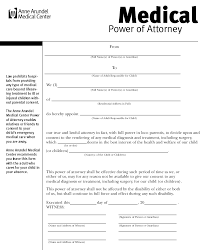 Health Care Power Of Attorney Form Medical Power Of Attorney Form Health Care Power Of Attorney Form 1