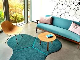 rounded curved triangle rug unique shaped rugs odd uk patchwork collection by shapes irregular and odd rugs