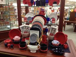 Just look at that red, white and blue! On Display: Americana Dinnerware (Fiesta, too!)