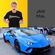 2018 lamborghini jake paul. wonderful 2018 youtuber u0026 actor jake paul owns a 2018 lamborghini huracn performante    inside lamborghini jake paul