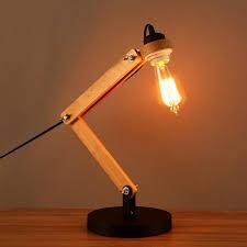 vintage style desk lamp. Modren Desk Wood Adjustable Architect Desk Lamp Intended Vintage Style