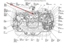 need help 94 7 5l e350 diagnostic codes the problem motor home chassis is often time they are built from several years if its a 1994 im enclosing the diagram that shows maf location