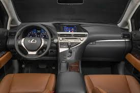 lexus 2013 interior. the cabin has all leather and wood trim buyers expect at this level of lexus 2013 interior