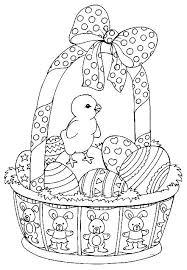 Coloring Pages Easter Dksahame