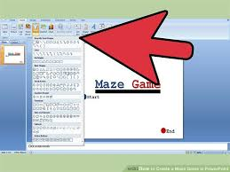 How To Make A Game In Powerpoint 3 Ways To Create A Maze Game In Powerpoint Wikihow
