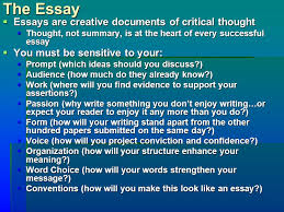 essay tips for the rest of your life feraco myth to science 2 the