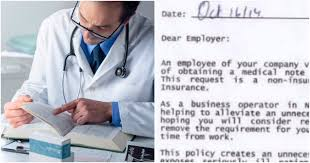 Doctors Note Requirement The Angry Doctor Note You Need To Read