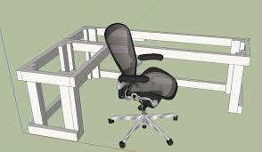 beautiful design l shaped desk plans manificent diy l shape computer desk