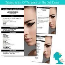 8 Best Cv Images Cv Template Resume Templates Makeup Artist Resume