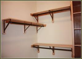 nice ideas closet support diy rod home design
