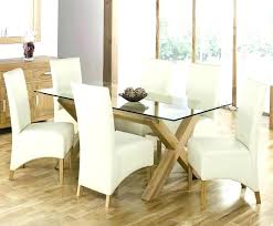 oval glass top dining table with wood base glass top dining table full size of oval