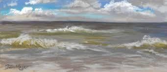 nature park myrtle beach sc plein air painting by ohio artist terri meyer